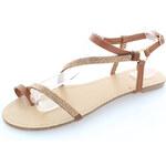 United Fashion Skořicové sandály Grina