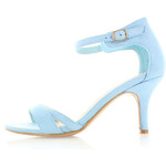 United Fashion Světle modré sandály Marissa