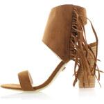 United Fashion Skořicové sandály Tapahana