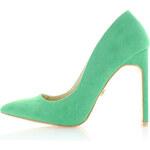 United Fashion Zelené lodičky Zampa