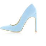 United Fashion Světle modré lodičky Zampa