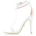 United Fashion Bílé sandály Irene