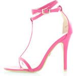 United Fashion Růžové sandály Irene