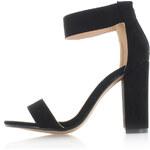 United Fashion Černé sandály Marka