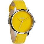 Nixon Kensington Leather yellow mod