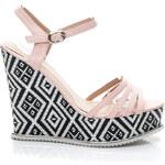 KISS ANGEL Růžové sandály Velikost: 39