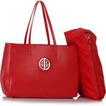 Kabelka London Bags červená