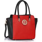 Kabelka London Bags černá/červená