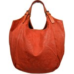 Oranžová kožená kabelka Adelaide Arancione Serp