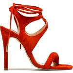 STEVE MADDEN salsaaa sandals color orange