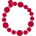Náramek OPS! Boule Chic OPSBR-261 červený