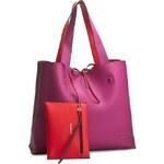 Kabelka CALVIN KLEIN JEANS - Stef Reversible Tote K60K601935 Berry/Fiery Red