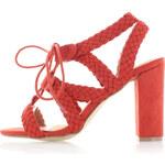 Vanessa Wu Koralové sandály Mapito