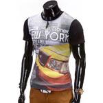 Lesara Herren-T-Shirt NYC Life - Schwarz - S