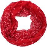Highlight Company Dámský kruhový šátek 0186-2_red/white anker,