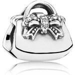 Pandora Stříbrný korálek Shoppaholic 791534CZ