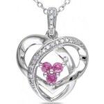 KRYSTYS Stříbrný náhrdelník se Zirkony Ag925 Trois