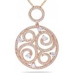 KRYSTYS Stříbrný náhrdelník se Zirkonem Ag925 Céleste