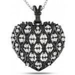 KRYSTYS Stříbrný náhrdelník se Zirkonem Ag925 Passion de minuit