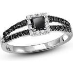 KRYSTYS Stříbrný prsten se Zirkony Ag925 Nicolin