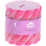 Ewax Svíčka Praza Pink, 7 cm