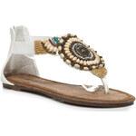 Veranice Žabky Ploché sandály indiana Veranice