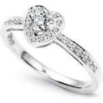 STAVIORI Zásnubní prsten s diamantem PZD4437W