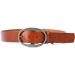 Dámský kožený opasek Penny Belts 8748 - hnědý