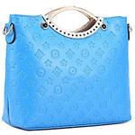 LightInTheBox Smiling Butterfly European Style Embossing Crossbody Bag(Blue)