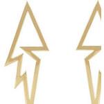 Náušnice Lightning zlaté C51543