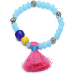 Náramek Tassels modrý J01409