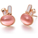 LightInTheBox Lovely Gold Plated Gold With Champagne Opal Rabbit Women's Earring