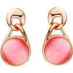 LightInTheBox Elegant Gold Plated Gold With Opal Round Women's Earring(More Colors)