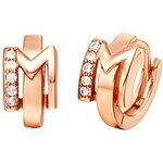 """LightInTheBox Special Silver And Gold Plated With Cubic Zirconia Letter """"M"""" Women's Earring(More Colors)"""