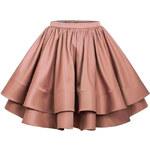 Manifiq&Co. Nabíraná sukně Cavina, hnědá