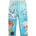 Disney Dívčí legíny Frozen s Annou a Elsou - barevné
