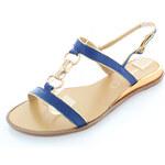 Tom&Eva Modré sandály Dafne