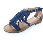 Tom&Eva Tmavě modré sandály Gelin
