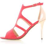 Tom&Eva Červené sandály Penelope