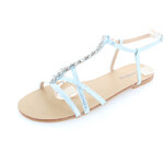 Tom&Eva Světle modré sandály Klarita
