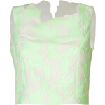 3.1 Phillip Lim Abstract Jacquard Crop Top