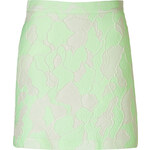 3.1 Phillip Lim Abstract Jacquard Mini-Skirt