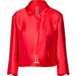 Jil Sander Silk Blend Cropped Jacket