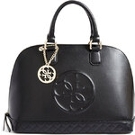 Guess Amy quattro G dome satchel black kabelka