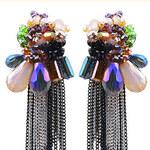 Náušnice Gems barevné A40530