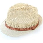 Verde Béžový klobouk Percie