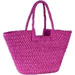 Letní taška na pláž a na nákupy Andrea Conti pink