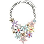 Topshop Eclectic Pastel Flower Collar