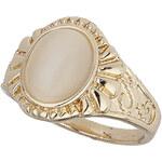 Topshop Cream Oval Catseye Stone Ring