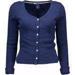 Woman Cardigan Gant 63785 - Modrá / XS